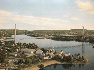 Проект моста над Севастопольской бухтой