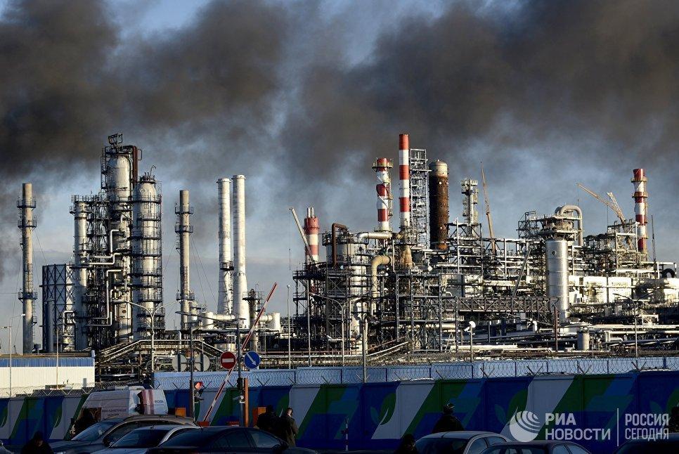 Пожар в Капотне: московский НПЗ работает в штатном режиме после инцидента