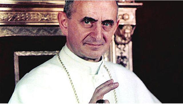 Ватикан выпустил монету с позолотой в честь канонизации Павла VI