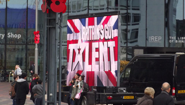 Рекламная платформа проекта Britain's Got Talent. Архивное фото