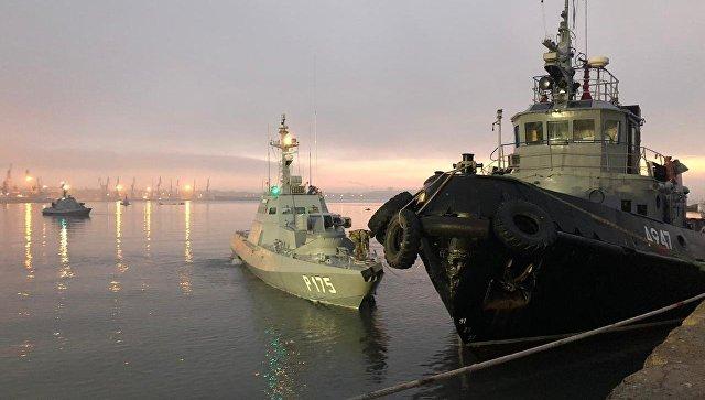 Комитет СФ, МИД и ФСБ рассмотрят 3 декабря инцидент в Черном море