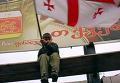 """В дни """"Бархатной революции"""" на улицах Тбилиси"""