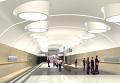 Макеты строящихся станций Люблинской линии Московского метрополитена