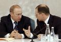 Встреча Владимира Путина и Сергея Кириенко