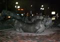 Памятник комсомольцам-защитникам Сталинграда обрушился в Волгограде