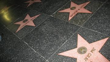 Аллея звезд в Голливуде, архивное фото
