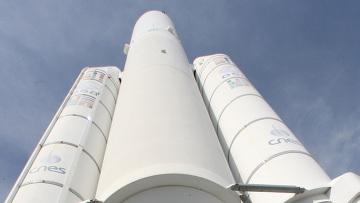 Ракетоноситель Ариан-5 (Ariane-5). Архив