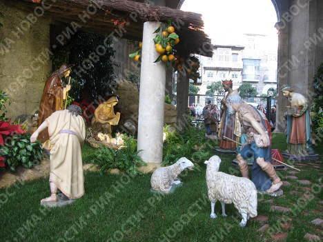Рождественские ясли в Испании