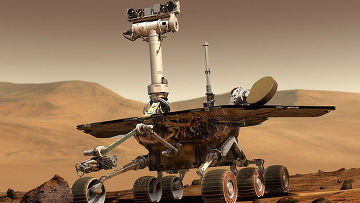 Марсоход Спирит (компьютерная графика)