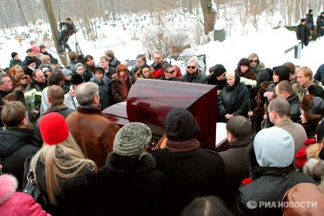 На могиле, самохиной сожгли крест и украли фото