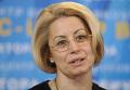 Анна Герман на пресс-конференции в штабе Виктора Януковича