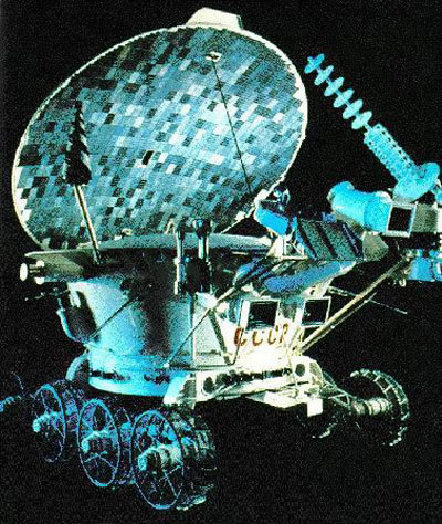Луноход-2 — второй из серии советских лунных дистанционно-управляемых самоходных аппаратов-планетоходов «Луноход»