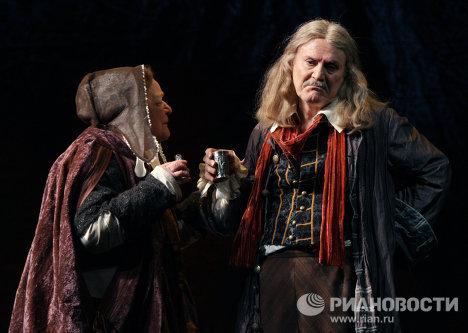 Спектакль Мольер по пьесе Михаила Булгакова в Малом театре