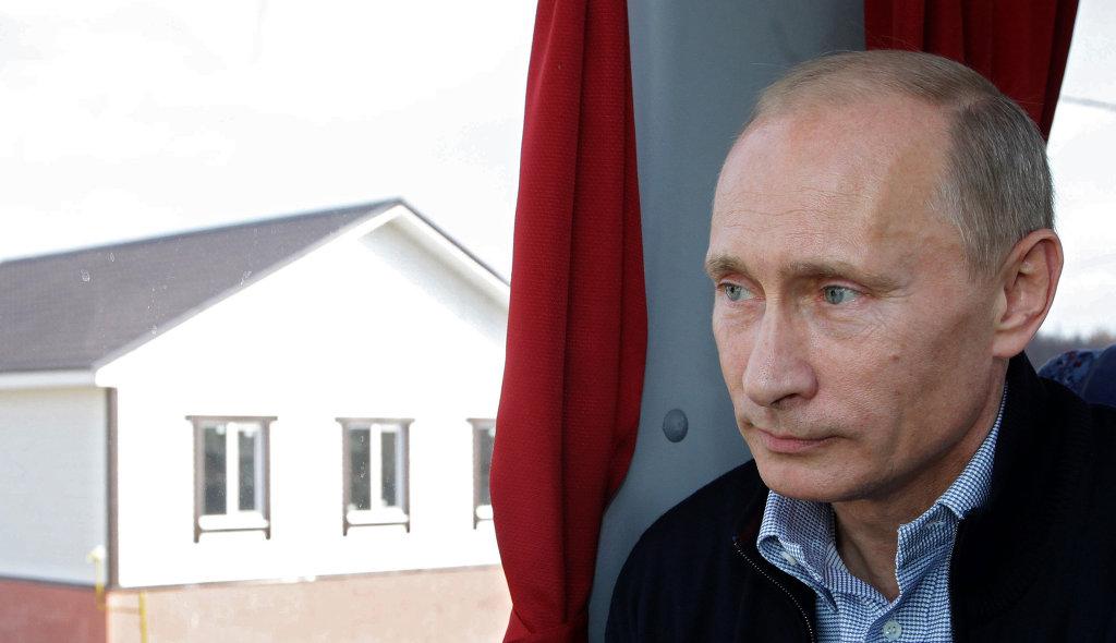 Премьер-министр РФ Владимир Путин посетил поселок Верхняя Верея в Нижегородской области