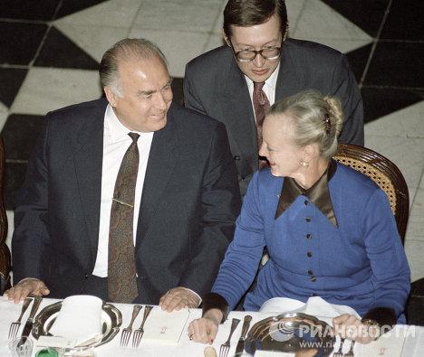 Официальный визит Черномырдина в Королевство Дания