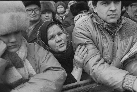 Митинг за отмену 6-й статьи Конституции СССР. Москва, февраль 1990