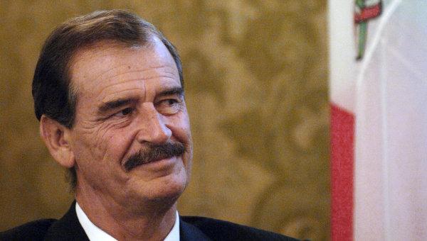 Экс-президент Мексики Висенте Фокс. Архивное фото