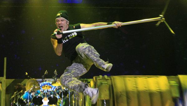 Концерт группы Iron Maiden