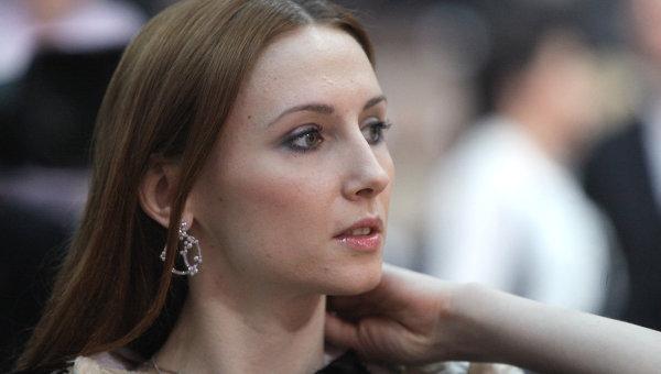 Прима-балерина Большого театра Светлана Захарова