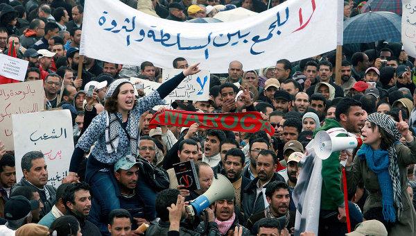 Бесопрядки в Марокко