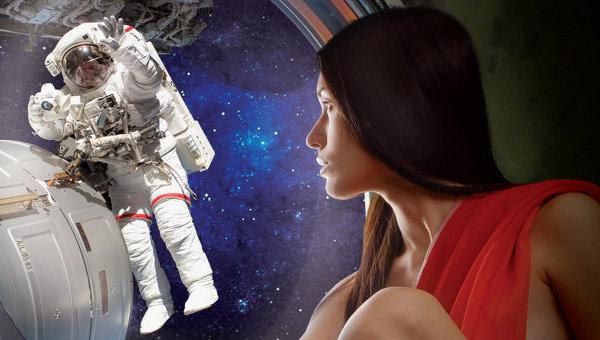 Жизнь и секс космонавтов в космосе