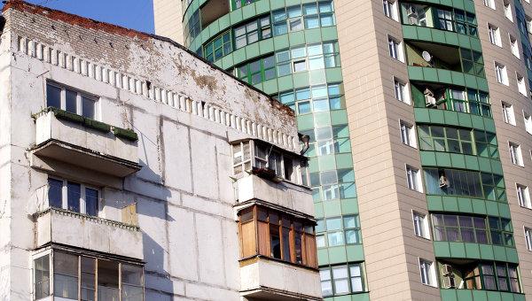 Жилые дома в Москве. Архив