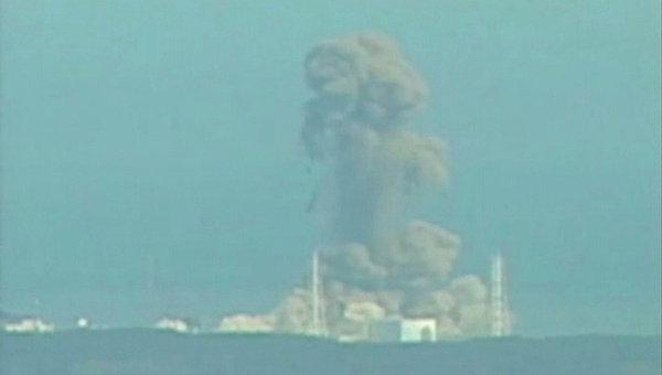 Взрыв на третьем реакторе японской АЭС Фукусима-1