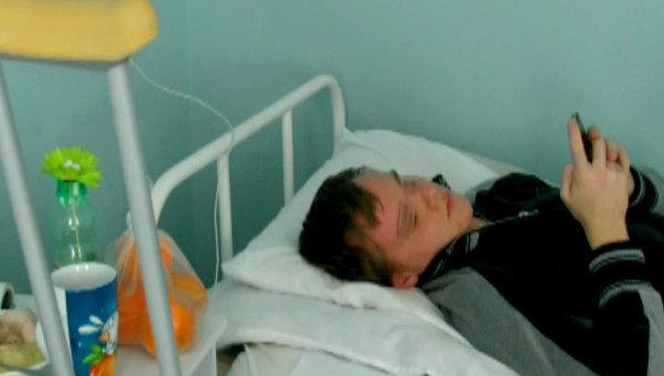 Подросток Сергей Воротников в 1-й ГКБ имени Пирогова