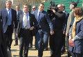 Рабочая поездка Дмитрия Медведева в Лыткарино
