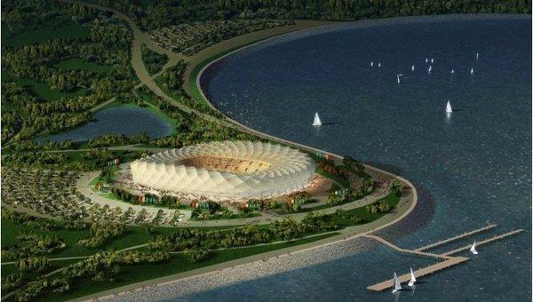 Проект стадиона Краснодар. Архивное фото