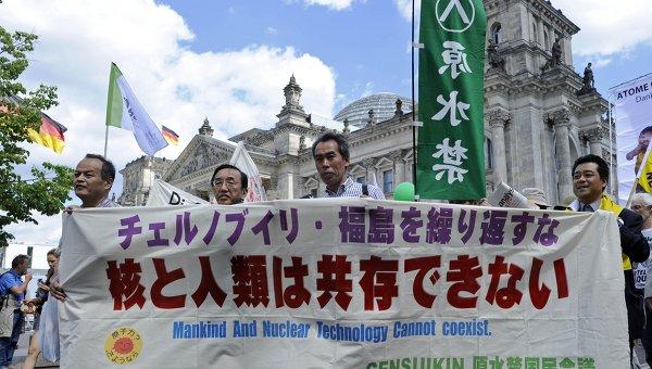 Протесты против АЭС в Германии