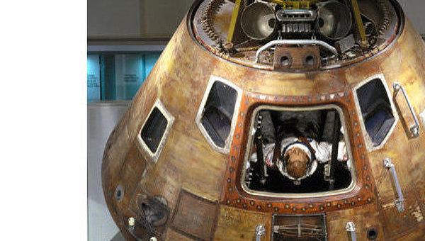 Аполлон-10 (Apollo 10) — пилотируемый космический корабль, совершивший последний (перед выполнением основной задачи) испытательный полет к Луне. Экспонат Science Museum