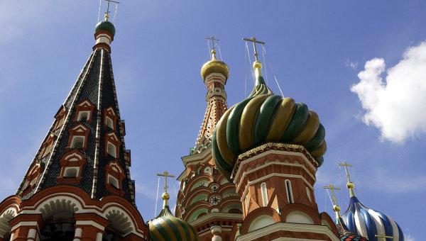 Купола Храма Василия Блаженного