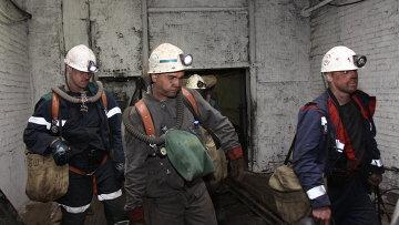 Спасательная операция на шахте Северная в Коми. Архивное фото
