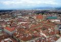 Вид на базилику Сан-Лоренцо (San Lorenzo) во Флоренции