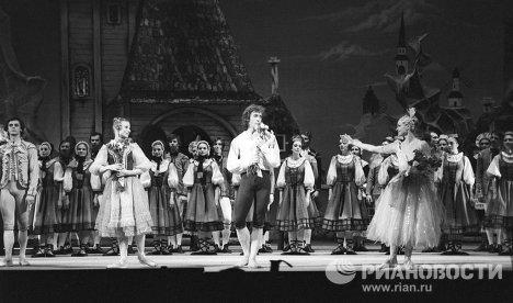 Балет Фея Рондских гор на сцене Ленинградского Малого театра оперы и балета