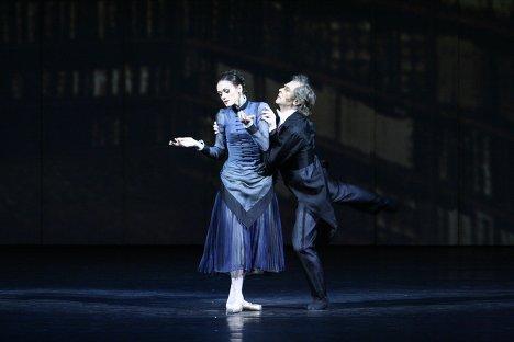 Сергей Бережной и Ульяна Лопаткина в сцене из балета Анна Каренина