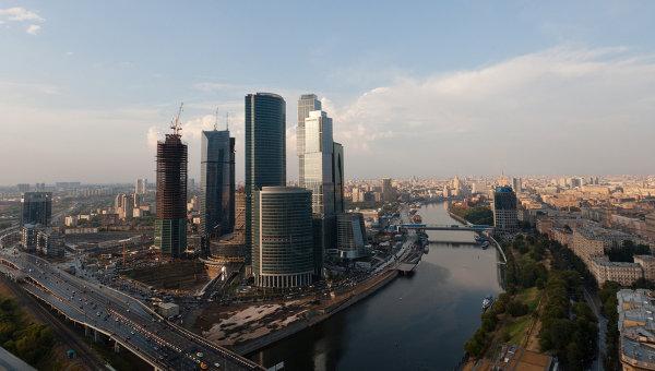 Московский международный деловой центр Москва-Сити. Архив