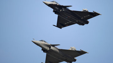 Французские многоцелевые истребители Dassault Rafale
