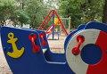 Детские площадки на Люсиновской улице в Москве