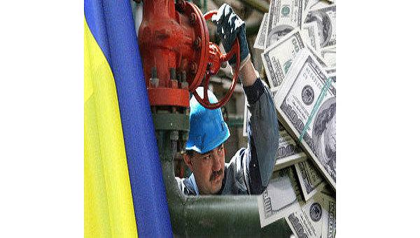 Украина, газ. Архив
