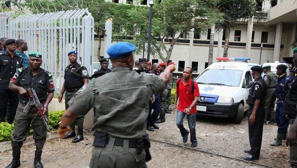 Взрыв на территории представительства ООН в столице Нигерии городе Абуджа