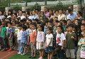 Церемония, посвященная началу нового учебного года в пекинской школе «Фанцаоди»
