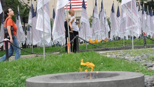 Годовщина террактов 11 сентября в США