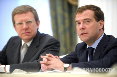 Президент РФ Д.Медведев встретился с главой Всемирного банка