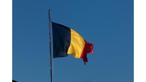 Бельгийский флаг. Архивное фото