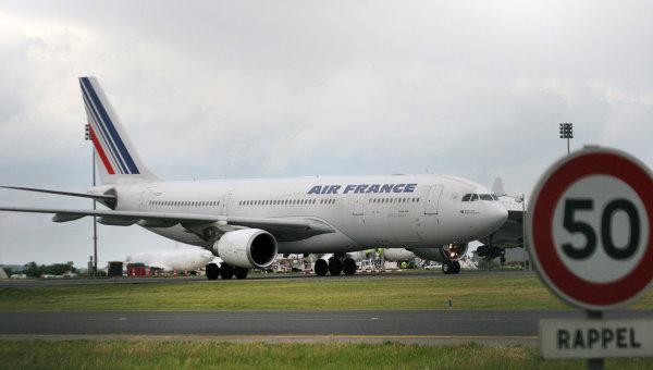 Пассажирский лайнер французской авиакомпании Air France. Архивное фото