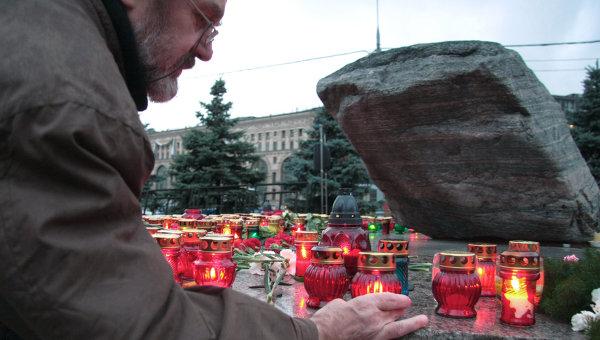 Акция в память жертв политических репрессий