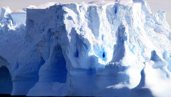 Ледники в Антарктиде. Архив