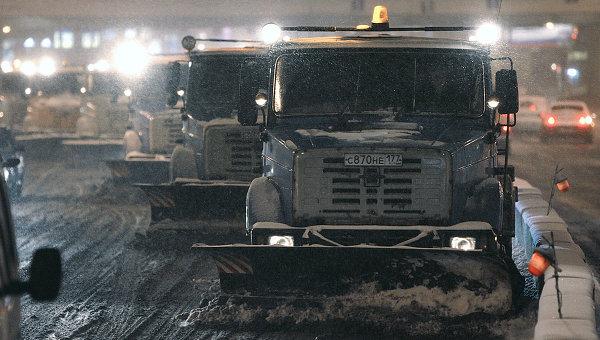 Неизвестный застрелил водителя снегоуборочной машины на юге Москвы